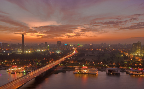 Cairo Sunset by arch2452