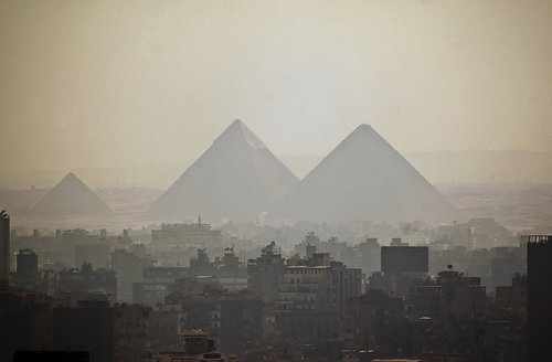Pyramids by timkelley