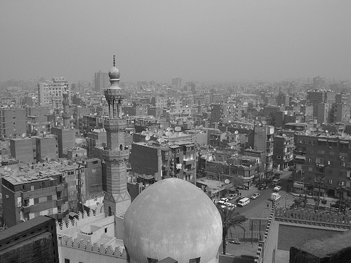 Aerial View for Fatimid Cairo by Bakar 88