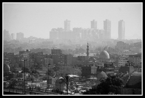 Cityscape panorama of Cairo by Daveness 98