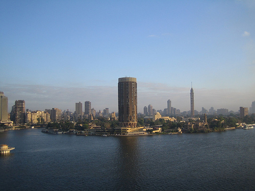 Cairo skyline in the morning by StartAgain