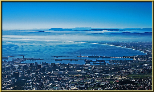 Beautiful Cape Town by Hubert January