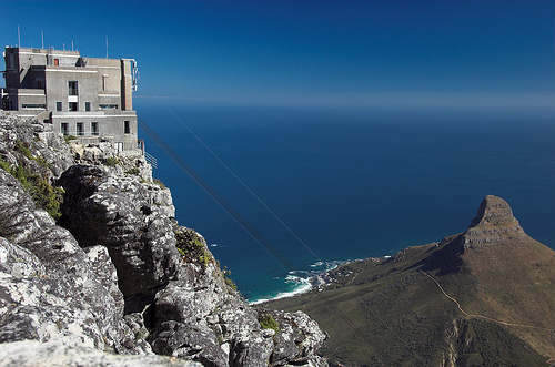 Upper Cableway Station by ifijay