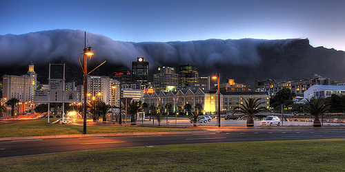 Cape Town Evening by Flickrbug