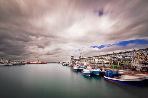 Calm in the Harbour by Steve Crane