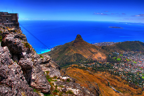 View from Table Mountain by slack12