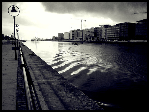 Dublin Port: a view