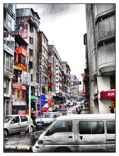 Streets of Istanbul by eye of einstein