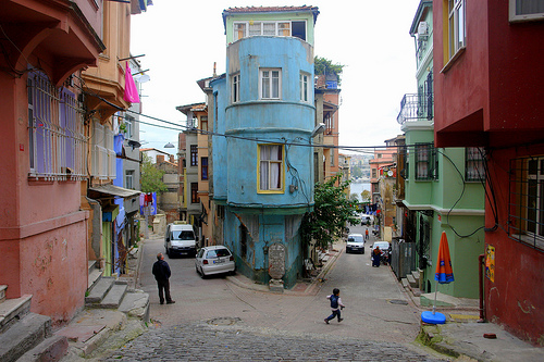 The colourful backstreets of Fener by CharlesFred