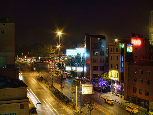 Main road & Taksim square by maistora