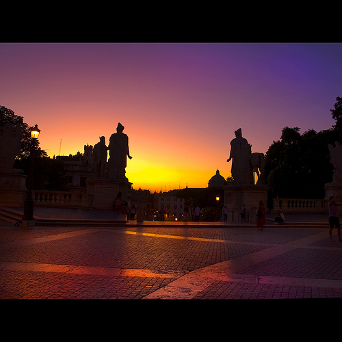 Capitoline Sunset