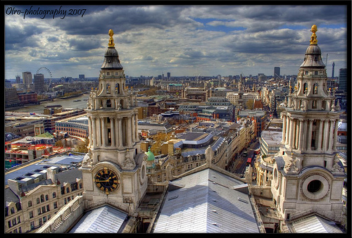 London from the Stone Gallery