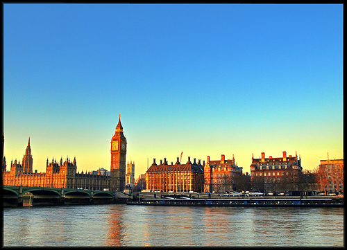 London at Dawn