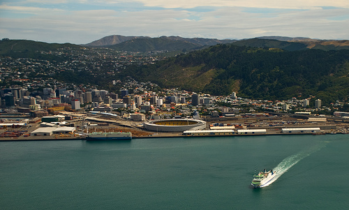Aotea Quay and the Stadium