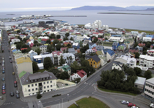 Across Reykjavik by Unhindered Talent