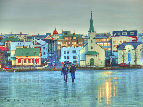 Reykjavik in February by appelsin
