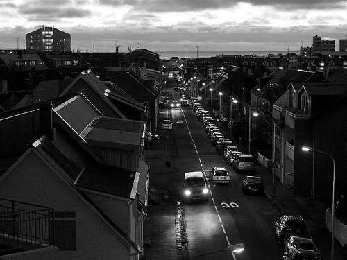 Twilight Reykjavik by GoodMoon