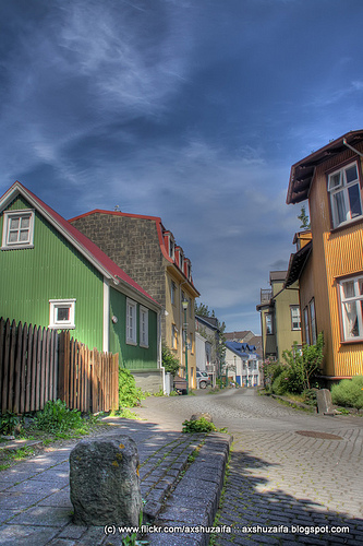 Walking through Reykjavik by axshuzaifa
