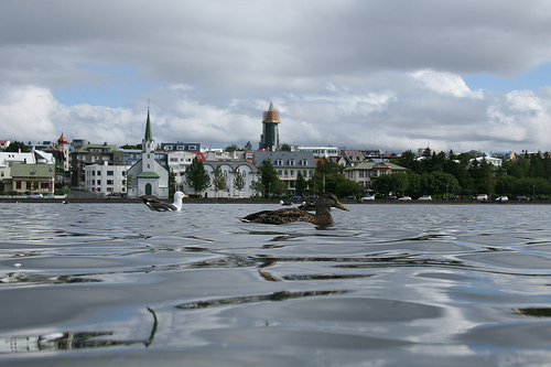 A normal Day in Reykjavik by S I G U R