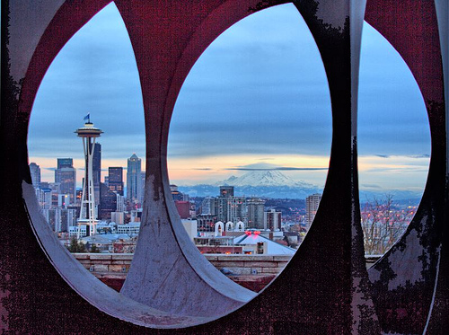Framing Rainier and Needle