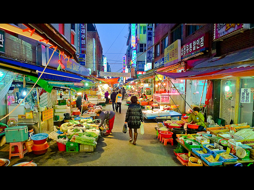 south korea: in search of kimchi