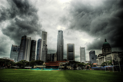 Those Giant Clouds...(Singapore)