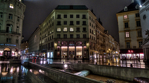 looshaus, michaelerplatz, vienna, austria
