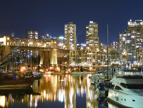 Burrard Bridge & Downtown Vancouver