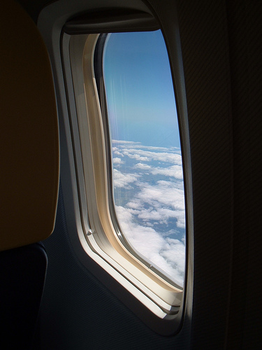 obligatory shot of aeroplane window