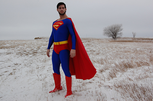Superman in North Dakota