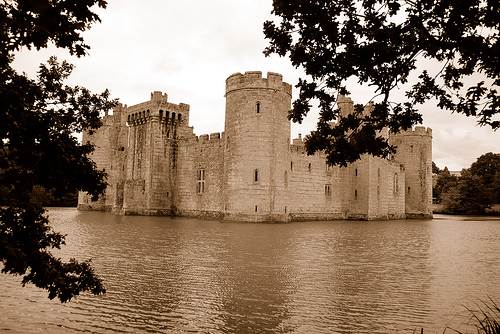 Bodiam Castle in the Frame