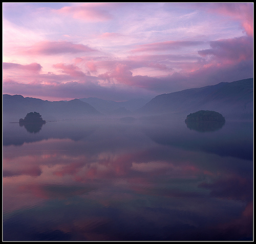 Borrowdale in Pink