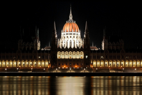Hungarian Parliament Symmetry