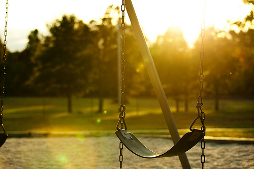 School Bells Ring Again, Lonely Swings Again