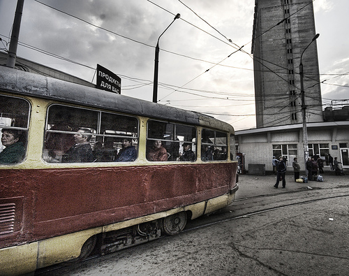 The Old Russian Streetcar