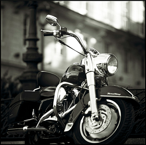 a motorcycle photography  13 Cool Black and White Motorcycle Pictures