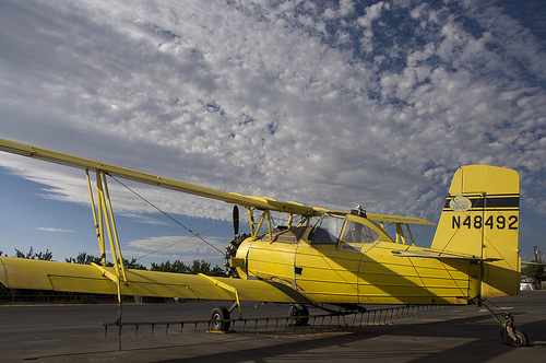 Westley CA, Crop Duster