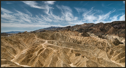 Zabriskie Point || Death Valley