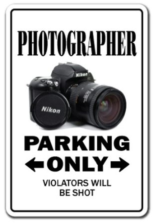 parking sign photographer