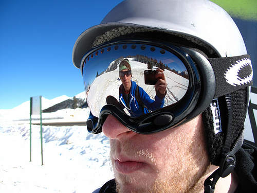 Mirrored Snowboard Goggles