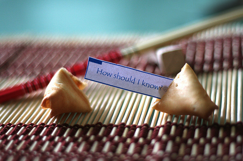 Finally! An honest Fortune Cookie...