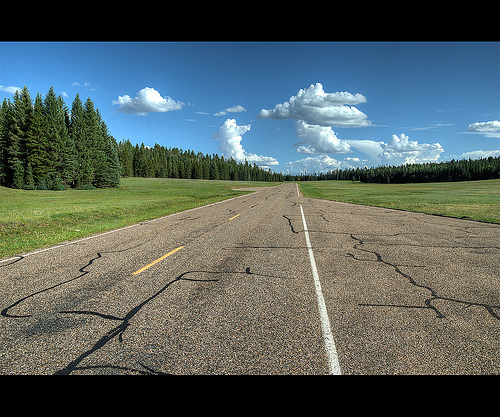 Road to North Rim