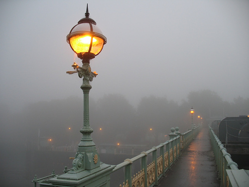 Foggy Lamp