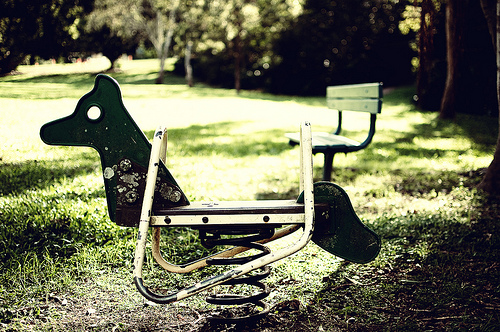 Lonely Rocking Horse