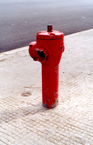 Fire Hydrant in Marrakech