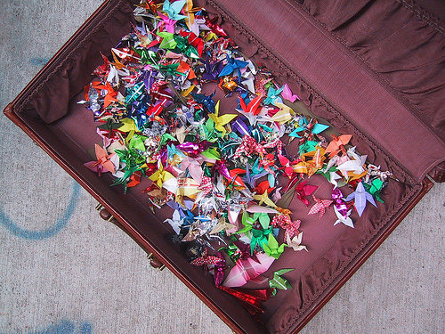 A Suitcase Full of Cranes