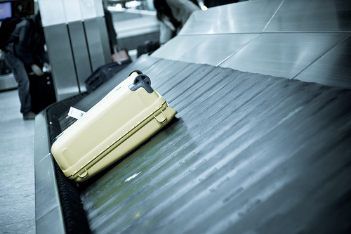 Good 'ol Yellow Suitcase