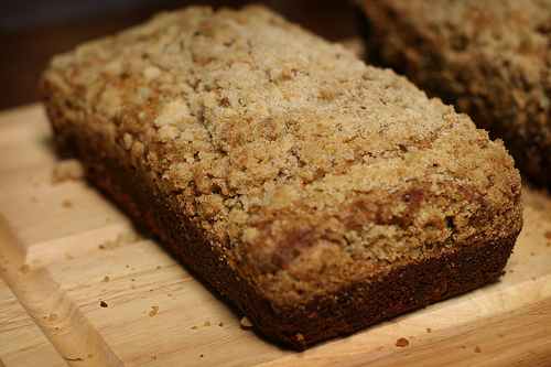Banana Bread with Streusel