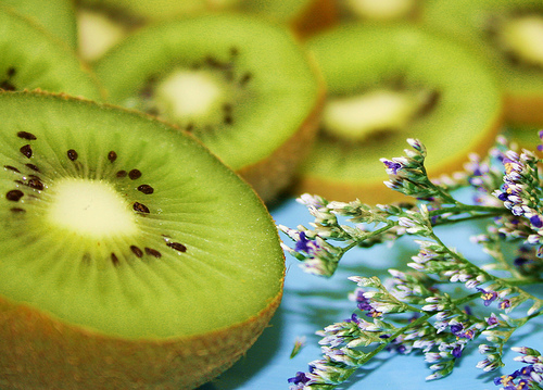 Pretty Green Kiwi Fruit