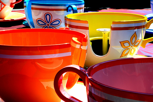 Tea Cups at Disneyland